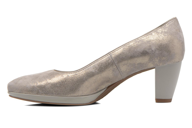 Zapatos de tacón Ara Toulouse Pla Oro y bronce vista de frente