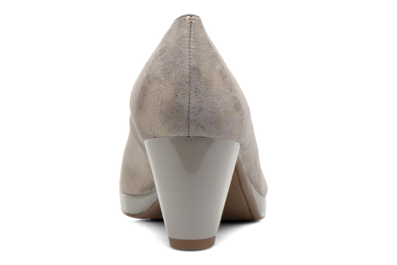 Zapatos de tacón Ara Toulouse Pla Oro y bronce vista lateral derecha