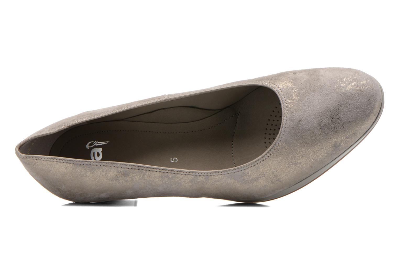 Zapatos de tacón Ara Toulouse Pla Oro y bronce vista lateral izquierda