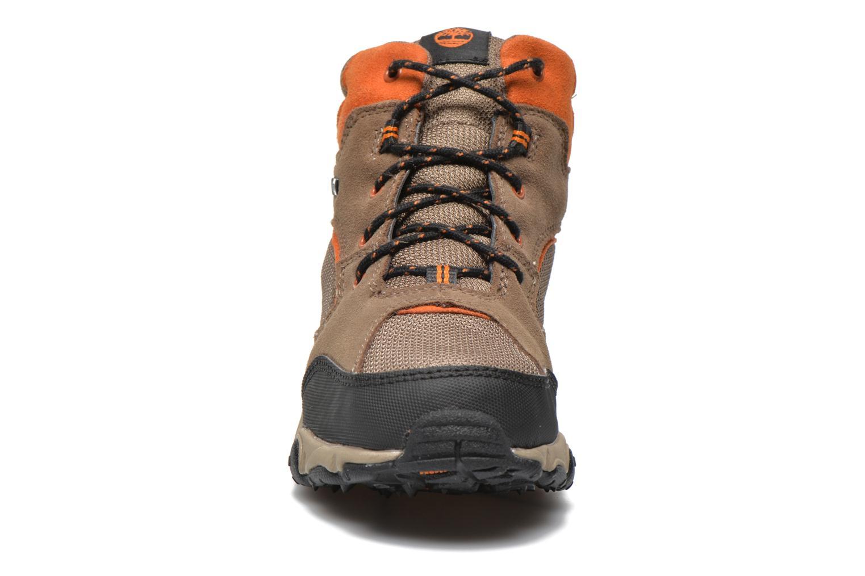 Bottines et boots Timberland Flume GTX Mid Marron vue portées chaussures