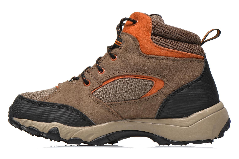 Bottines et boots Timberland Flume GTX Mid Marron vue face