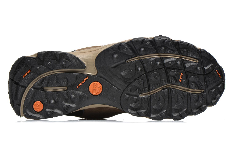 Bottines et boots Timberland Flume GTX Mid Marron vue haut