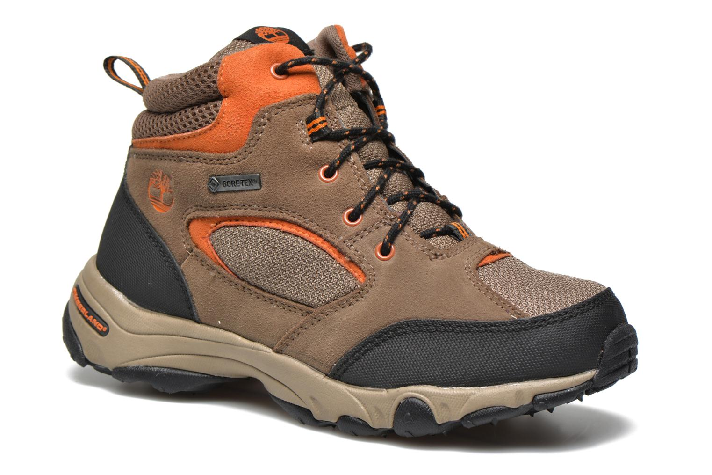 Bottines et boots Timberland Flume GTX Mid Marron vue détail/paire