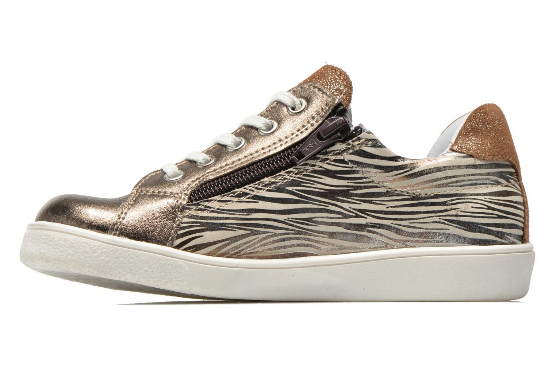 Sneakers Minibel Klasic Oro e bronzo immagine frontale