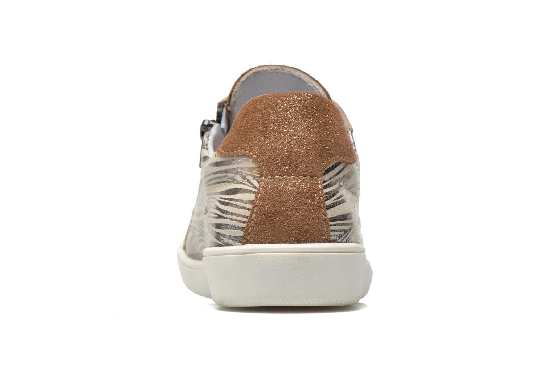 Sneakers Minibel Klasic Oro e bronzo immagine destra