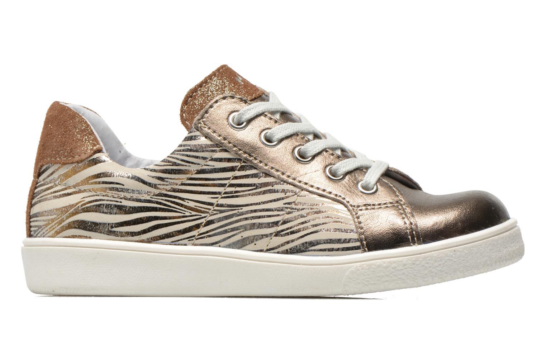 Sneakers Minibel Klasic Oro e bronzo immagine posteriore
