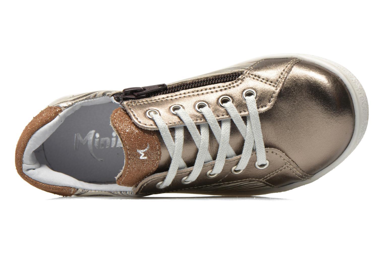 Sneakers Minibel Klasic Oro e bronzo immagine sinistra