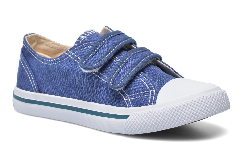 Baskets Minibel Estival Bleu vue détail/paire