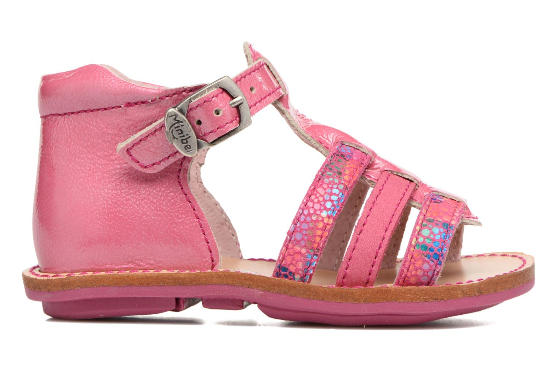 Sandales et nu-pieds Minibel Keglae Rose vue derrière