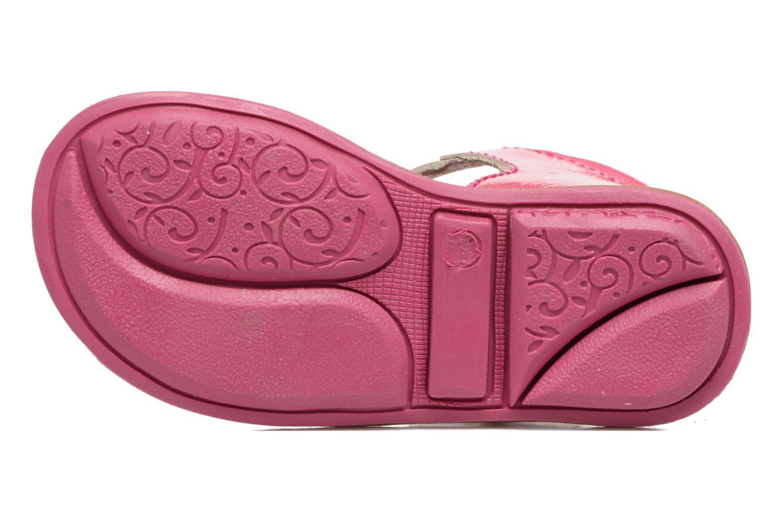 Sandales et nu-pieds Minibel Keglae Rose vue haut