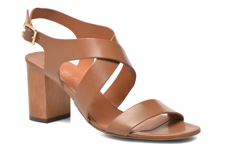 Sandales et nu-pieds Georgia Rose Baton Marron vue détail/paire