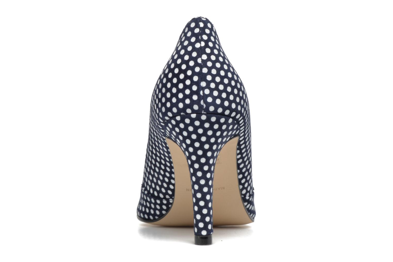 Zapatos de tacón Georgia Rose Fifillotte Azul vista lateral derecha