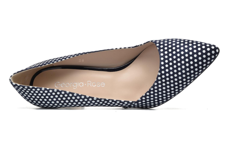 Zapatos de tacón Georgia Rose Fifillotte Azul vista lateral izquierda