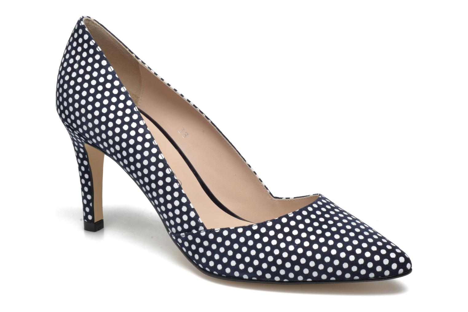 High heels Georgia Rose Fifillotte Blue detailed view/ Pair view