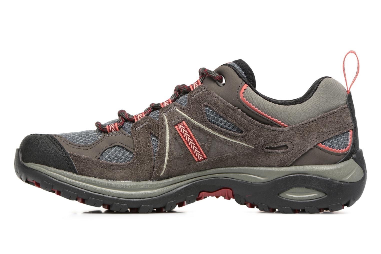 Chaussures de sport Salomon Ellipse 2 Aero W Noir vue face