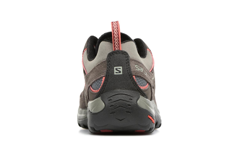Chaussures de sport Salomon Ellipse 2 Aero W Noir vue droite