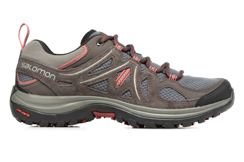 Chaussures de sport Salomon Ellipse 2 Aero W Noir vue derrière