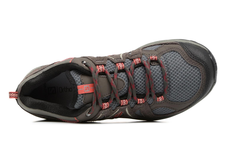 Chaussures de sport Salomon Ellipse 2 Aero W Noir vue gauche