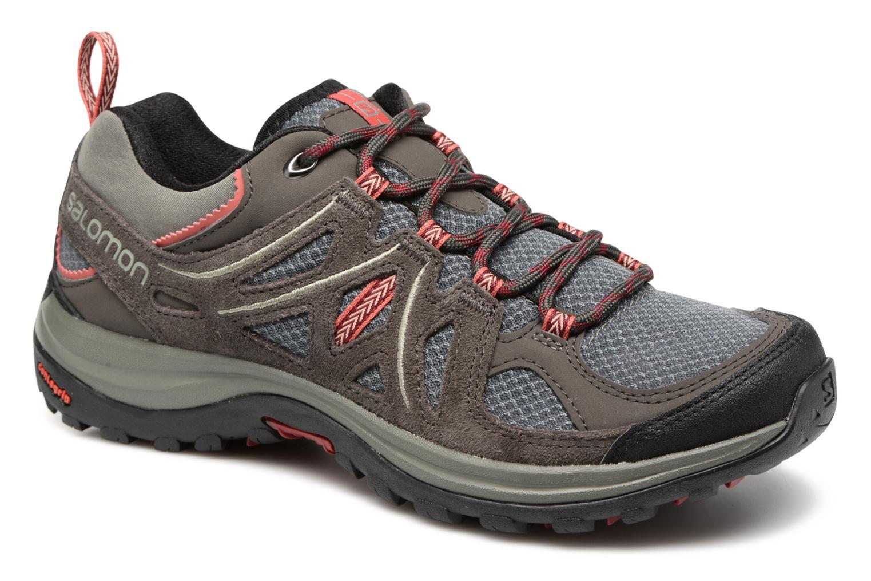 Chaussures de sport Salomon Ellipse 2 Aero W Noir vue détail/paire