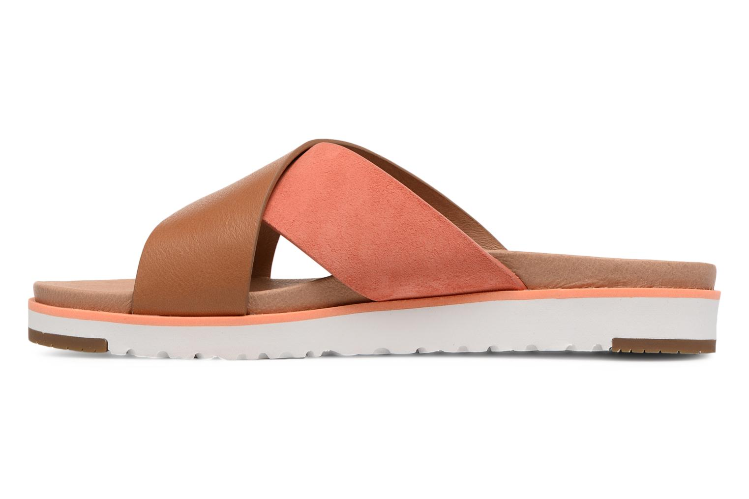 Mules et sabots UGG Kari Orange vue face