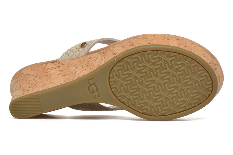 Natassia Metallic Basket Soft Gold
