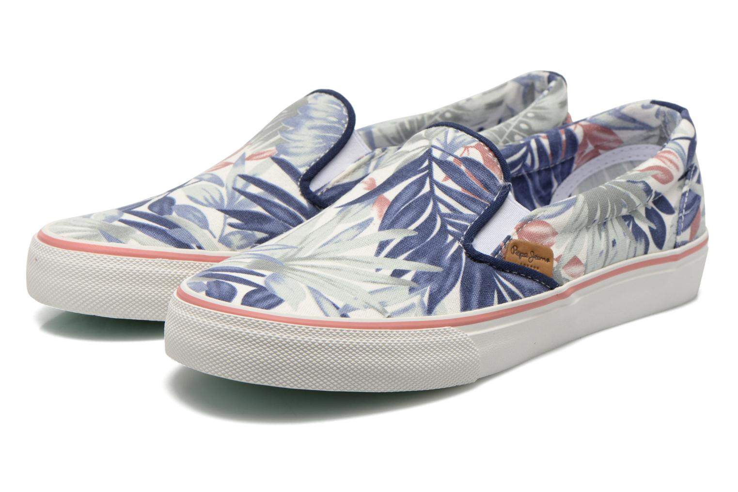 Trainers Pepe jeans Alford Jungle Multicolor 3/4 view