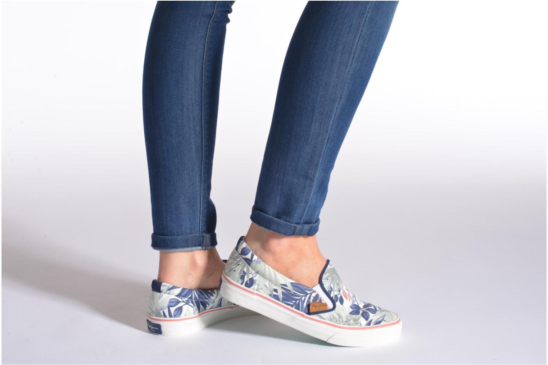 Sneaker Pepe jeans Alford Jungle mehrfarbig ansicht von unten / tasche getragen