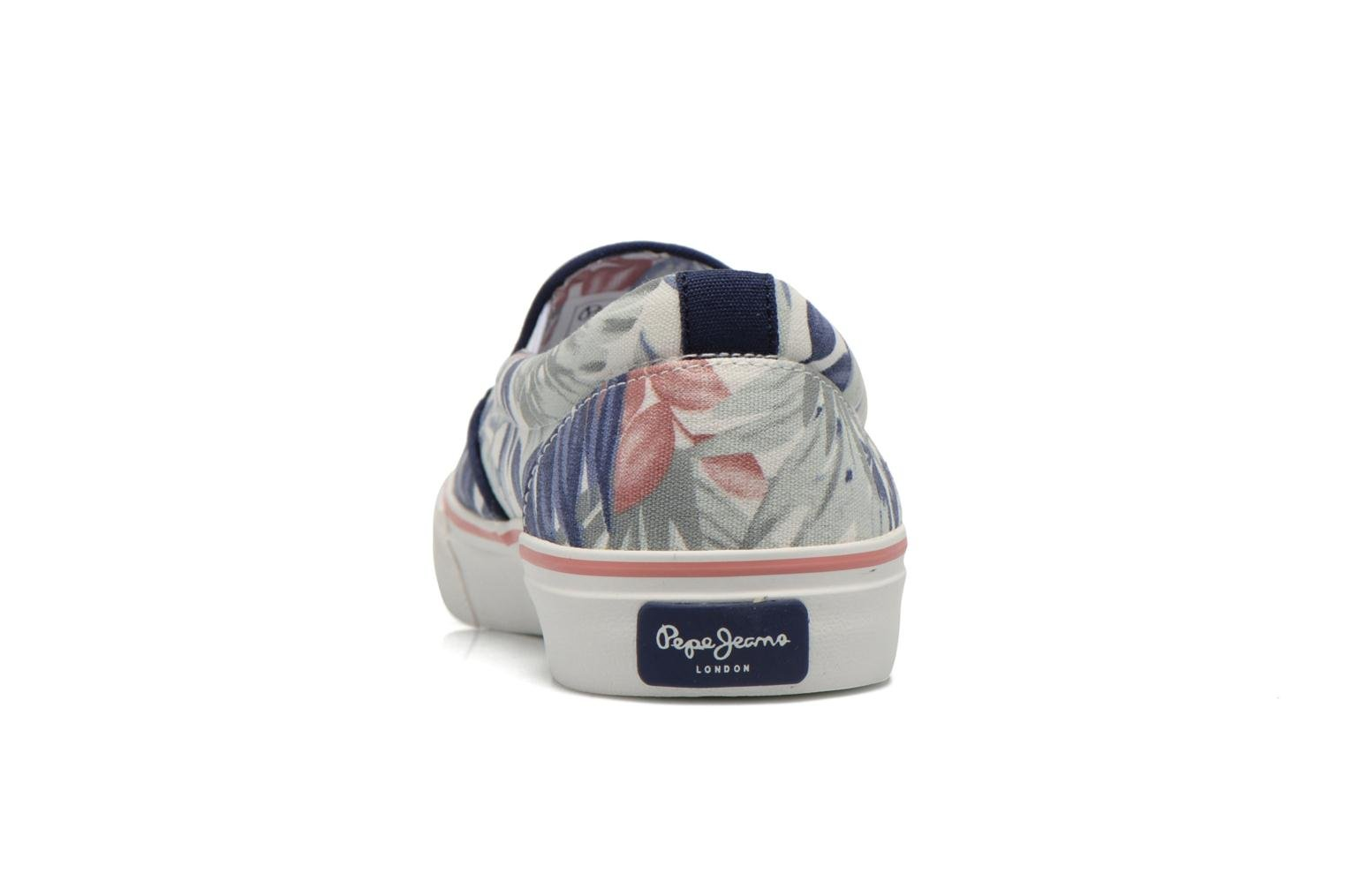 Trainers Pepe jeans Alford Jungle Multicolor view from the right