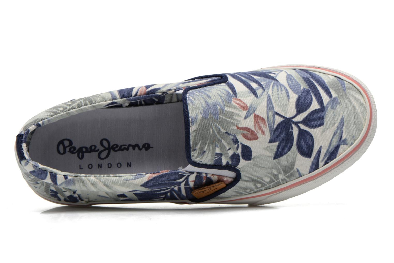 Sneaker Pepe jeans Alford Jungle mehrfarbig ansicht von links