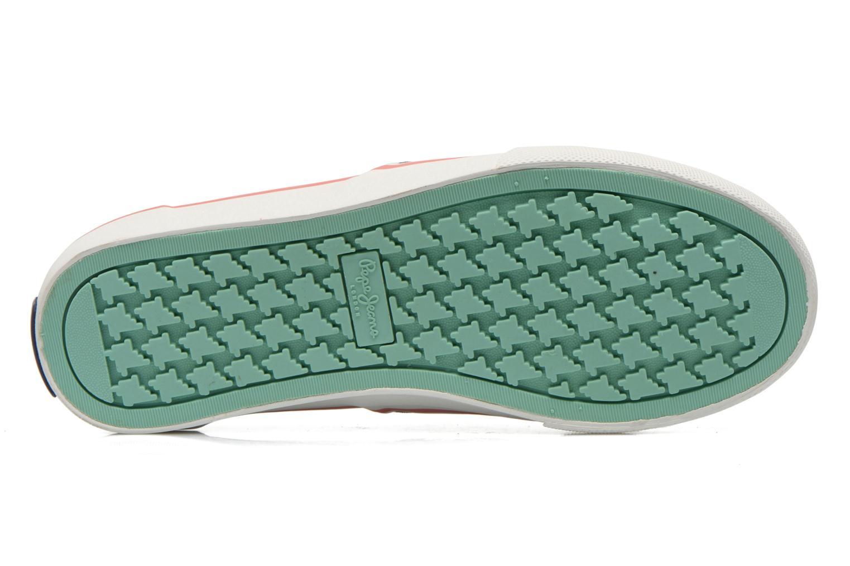 Sneaker Pepe jeans Alford Jungle mehrfarbig ansicht von oben