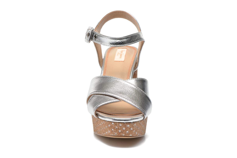 Zapatos promocionales Pepe jeans Grace Shine (Plateado) - Sandalias   Gran descuento