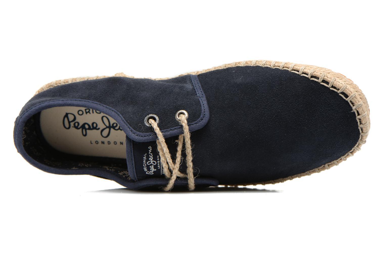 Chaussures à lacets Pepe jeans Tourist Basic 2 Bleu vue gauche