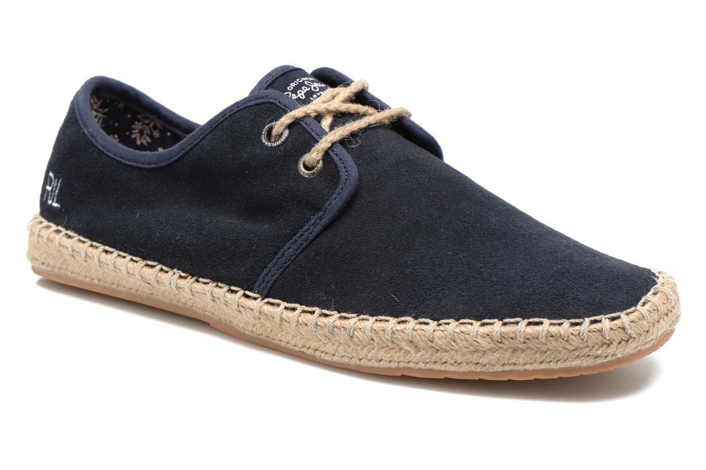 Chaussures à lacets Pepe jeans Tourist Basic 2 Bleu vue détail/paire