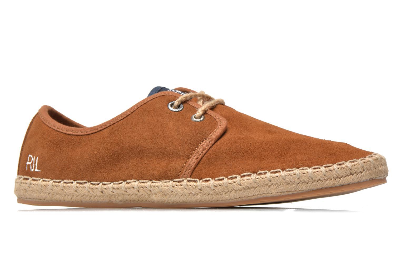 Chaussures à lacets Pepe jeans Tourist Basic 2 Marron vue derrière