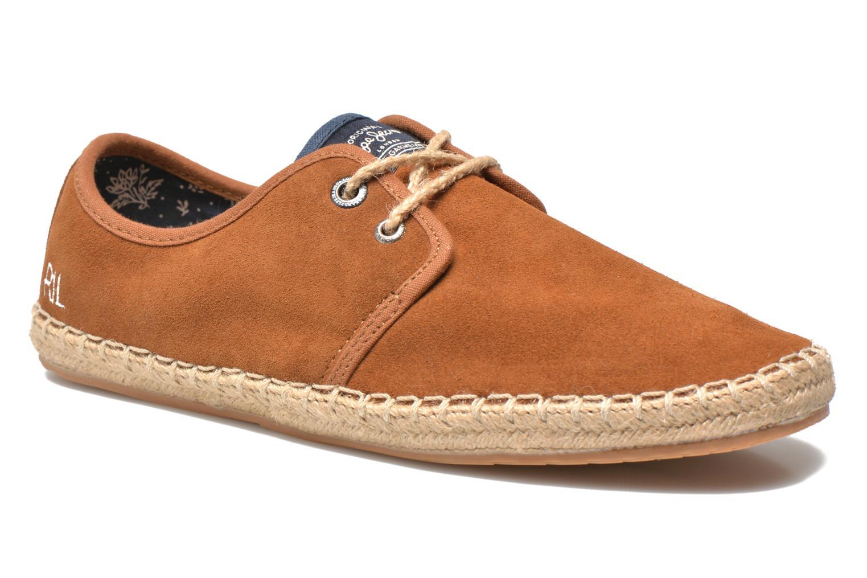 Chaussures à lacets Pepe jeans Tourist Basic 2 Marron vue détail/paire