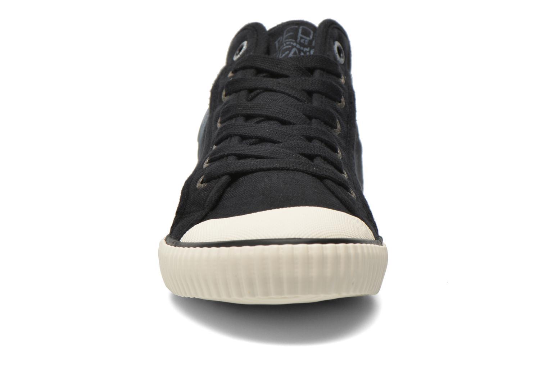 Baskets Pepe jeans Industry Deep Dye Noir vue portées chaussures