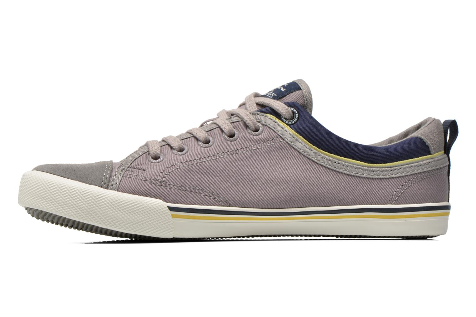 Sneakers Pepe jeans Britt Piping Grigio immagine frontale