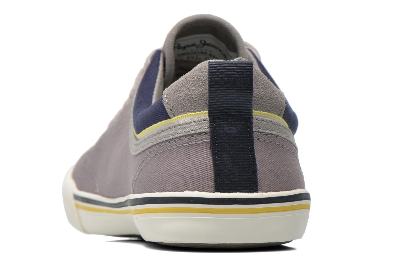 Sneakers Pepe jeans Britt Piping Grigio immagine destra