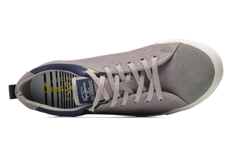 Sneakers Pepe jeans Britt Piping Grigio immagine sinistra