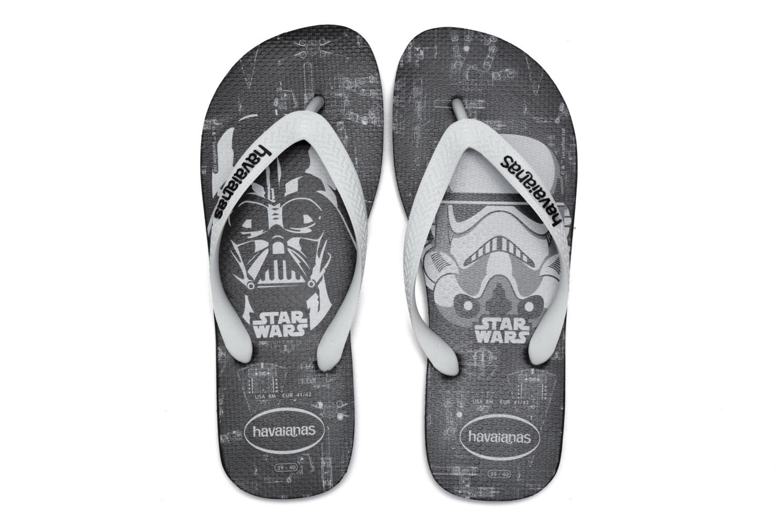 Flip flops Havaianas Star Wars Black 3/4 view