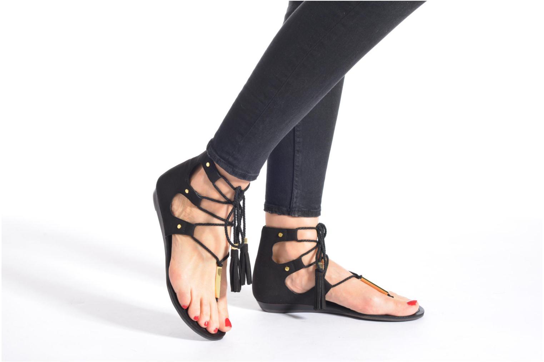 Sandales et nu-pieds Aldo JAKKI Noir vue bas / vue portée sac