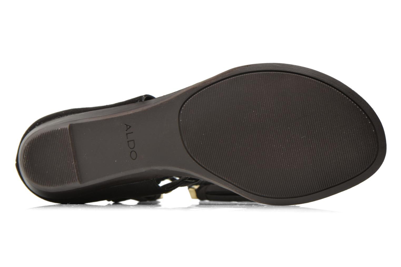Sandales et nu-pieds Aldo JAKKI Noir vue haut