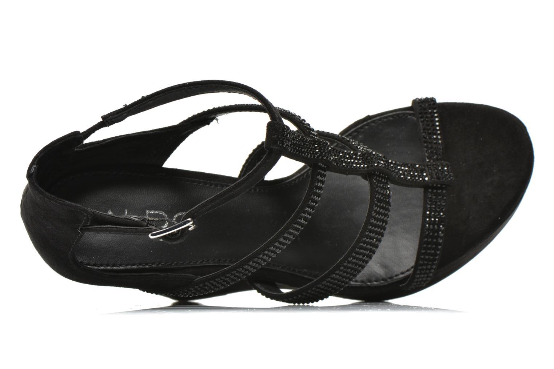 Sandales et nu-pieds Aldo BELLADONNA Noir vue gauche