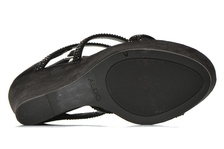 Sandales et nu-pieds Aldo BELLADONNA Noir vue haut