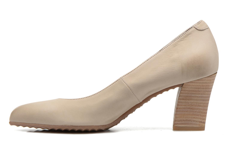 High heels Perlato Pampelune Beige front view