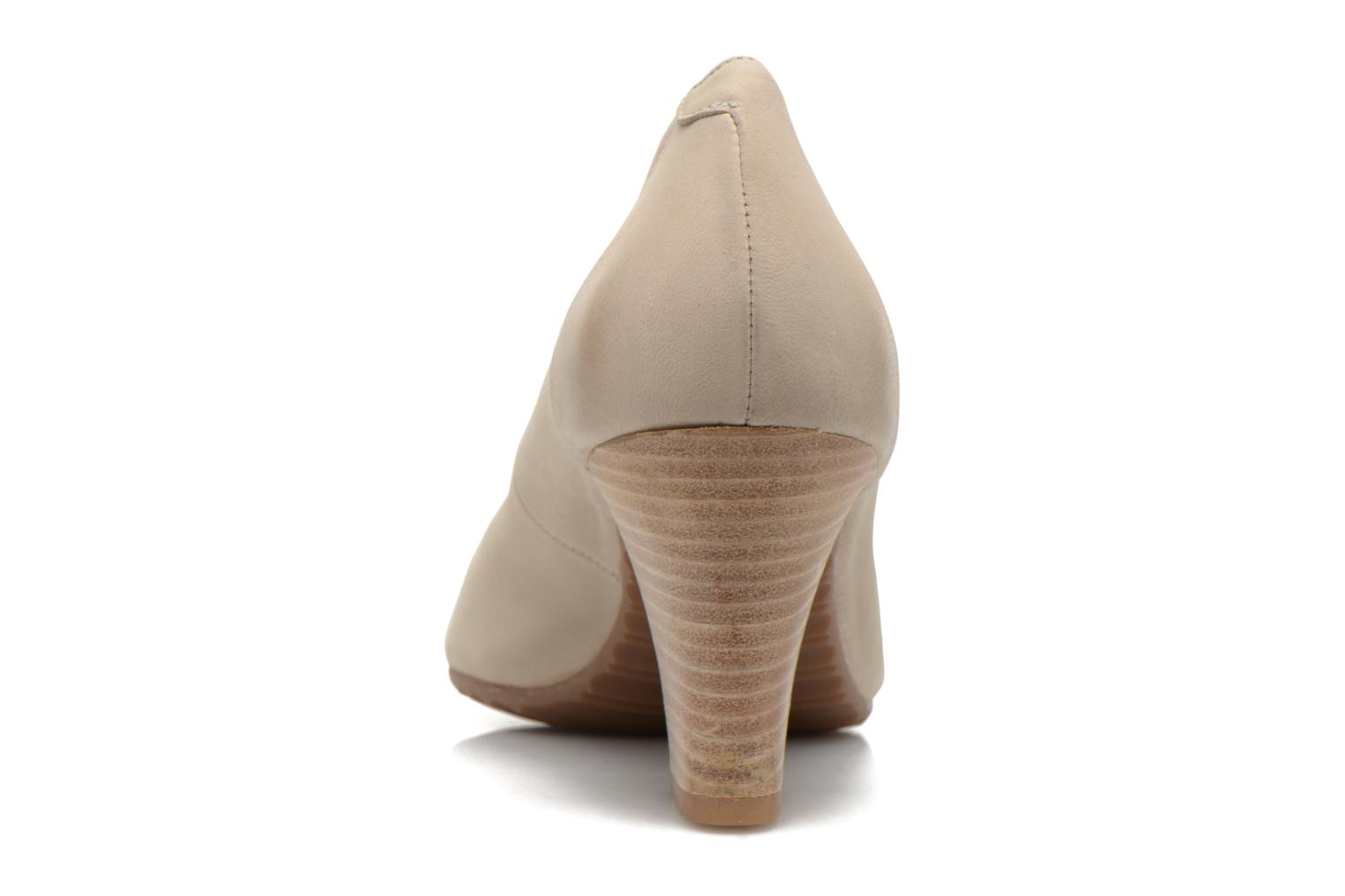 High heels Perlato Pampelune Beige view from the right