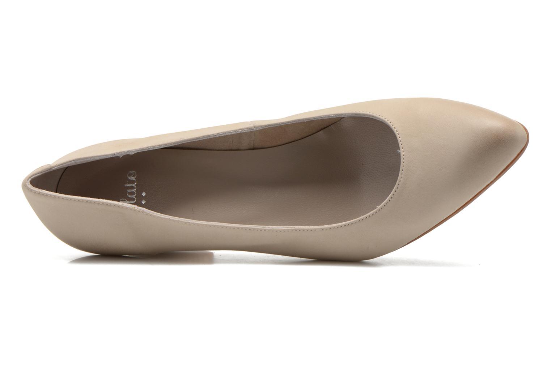 High heels Perlato Pampelune Beige view from the left