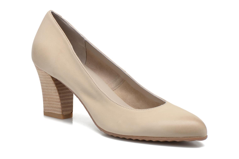 High heels Perlato Pampelune Beige detailed view/ Pair view
