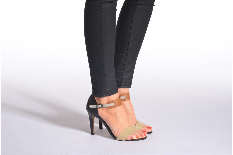Sandales et nu-pieds Perlato Cadix Multicolore vue bas / vue portée sac