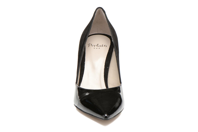 Escarpins Perlato Valence Noir vue portées chaussures